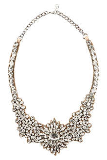 VALENTINO Bejewelled necklace