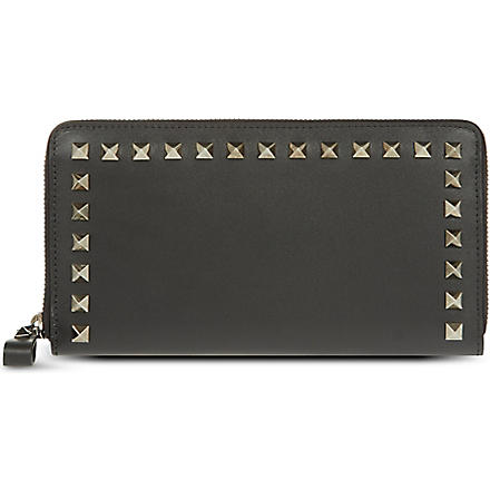 VALENTINO Continental zip around wallet (Black