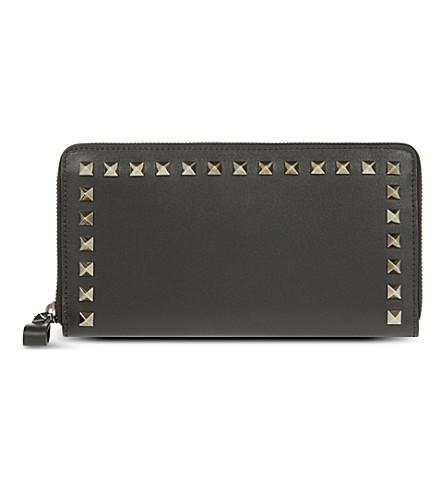 VALENTINO Continental zip around wallet (Black