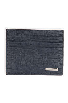 FENDI Classic leather card holder