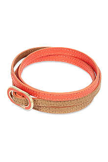 FENDI Double-wrap thin bracelet