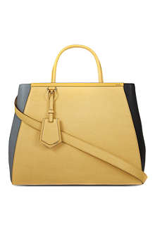 FENDI 2Jour leather tote bag