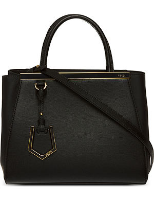 FENDI 2Jours mini leather tote