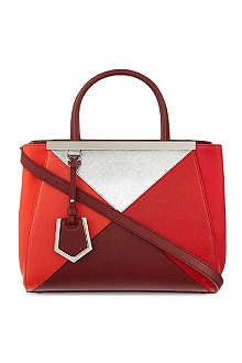 FENDI 2jour mini four-colour tote