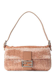 FENDI Baguette-embellished shoulder bag