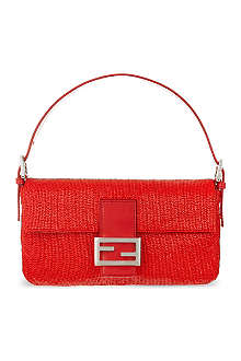 FENDI Baguette beaded shoulder bag