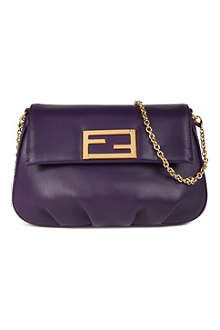 FENDI Fendista leather pouch