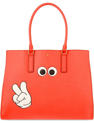 ANYA HINDMARCH Ebury victory leather tote