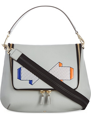 ANYA HINDMARCH Maxi Zip arrows satchel