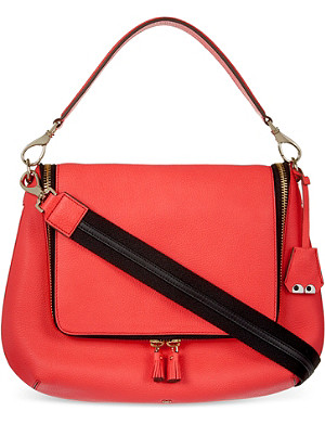ANYA HINDMARCH Maxi eyes zip satchel
