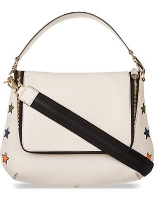 ANYA HINDMARCH Maxi Zip stars satchel