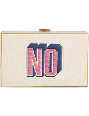 ANYA HINDMARCH Imperial Yes No clutch