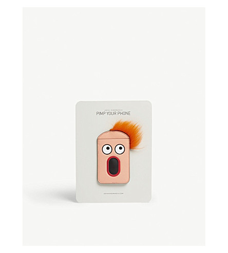 ANYA leather Face salmon Light phone HINDMARCH sticker circus case rx0wxP