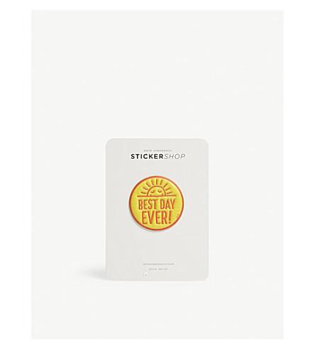historia de día amarilla de ANYA del cuero La HINDMARCH Capra la mejor etiqueta wfxqn6U8v