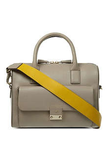 ANYA HINDMARCH Carker Barrel leather bowling bag