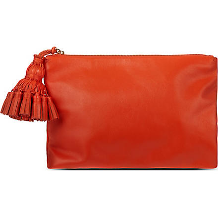 ANYA HINDMARCH Georgiana clutch (Clementine