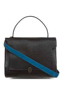ANYA HINDMARCH Deconstructed Bathurst small leather satchel