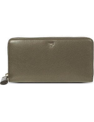 ANYA HINDMARCH Continental leather wallet