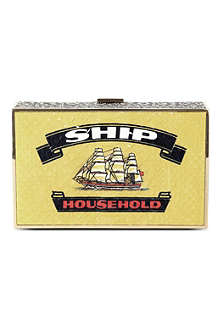 ANYA HINDMARCH Ship Imperial clutch