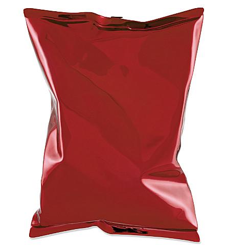 ANYA HINDMARCH Crisp packet metal clutch (Orange