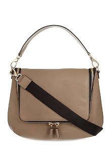 ANYA HINDMARCH Maxi zipped leather satchel
