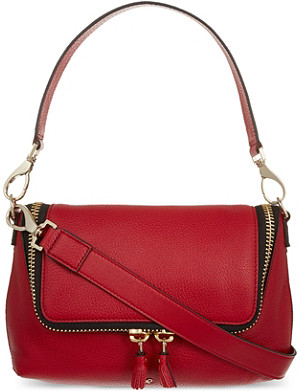 ANYA HINDMARCH Maxi zipped leather cross-body bag