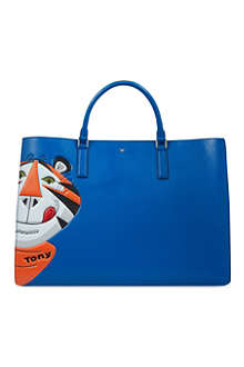 ANYA HINDMARCH Ebury maxi Frostie tote