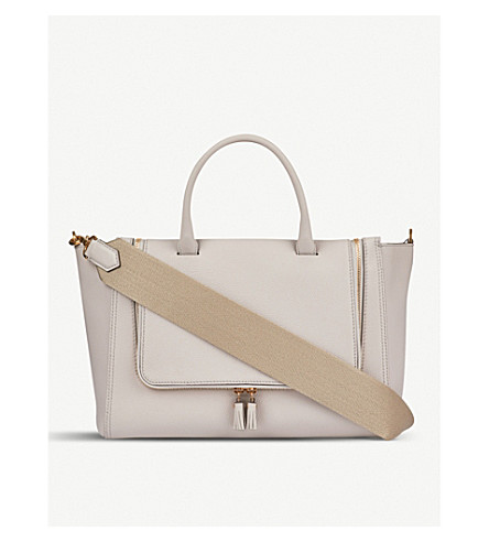 ANYA HINDMARCH Small Vere grained leather tote bag (Steam