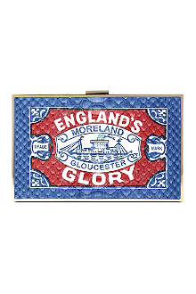 ANYA HINDMARCH England's Glory Imperial clutch