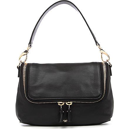 ANYA HINDMARCH Maxi Zip cross-body bag (Black