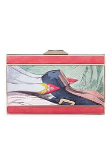 ANYA HINDMARCH Duchess valentine satin box clutch