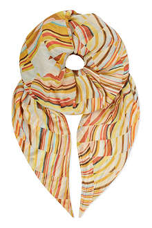 PAUL SMITH Seasonal swirl scarf