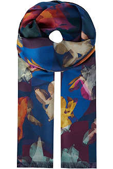 PAUL SMITH Photographic print scarf