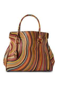 PAUL SMITH Globe swirl-print tote