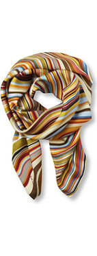 PAUL SMITH Swirl square scarf