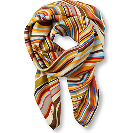 PAUL SMITH Swirl square scarf (1