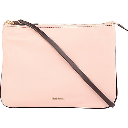 PAUL SMITH Hove cross-body pouch bag (Pink