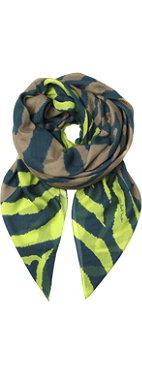 PAUL SMITH Zebra square scarf