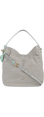 PAUL SMITH Westbourne embossed suede hobo