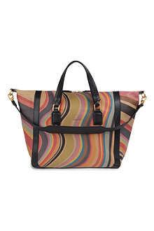 PAUL SMITH Swirl Ziggy leather tote bag