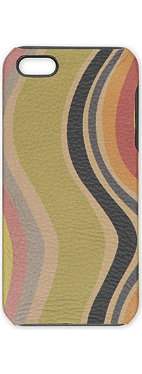 PAUL SMITH Swirl-print iPhone 5 phone case