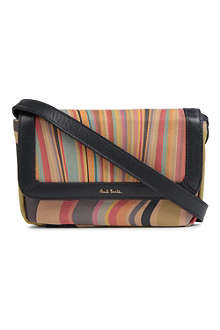 PAUL SMITH Swirl leather shoulder bag