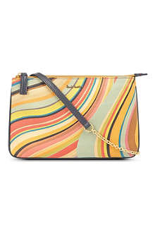 PAUL SMITH Swirl-print pouch