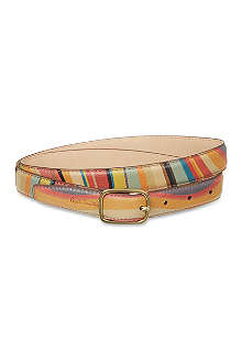 PAUL SMITH Carnaby swirl belt