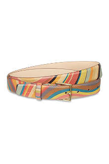 PAUL SMITH Helio swirl belt