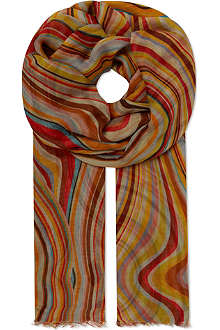 PAUL SMITH Swirl modal wrap