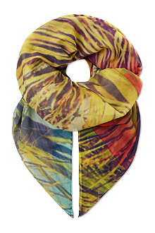 PAUL SMITH Palm tree scarf