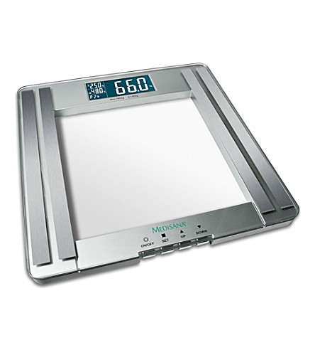 MEDISANA Personal scales with body analysis function