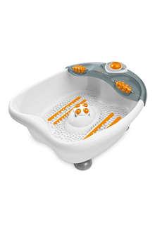 MEDISANA Foot spray bath wet and dry massager