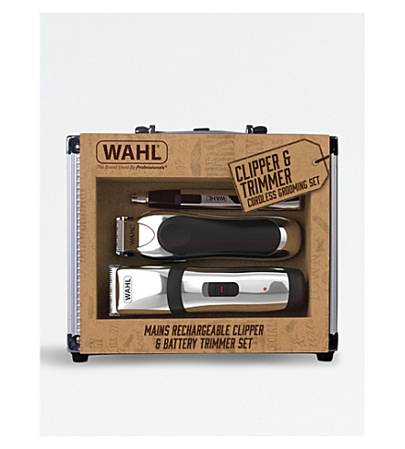 WAHL Clipper and trimmer cordless grooming set